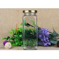 Quality 176mm Square Food Grade Clear Pet Jars Coffee Tin PP Lids Pet Plastic Jars for sale
