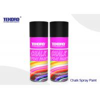 China Decorating Chalk Spray Paint Water Based Formulation Type For Outdoor / Indoor Marking on sale