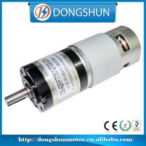 Quality DS-42RP775 high torque low rpm 12v 24v dc planetary gear motor for sale