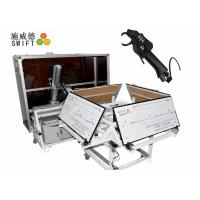 Full Automatic Cable Tie System , Wire Tying Machine For Bundling Synchromesh