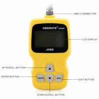 Quality OBDMATE OBD2 JOBD EOBD Car Fault Vehicle Code Reader Scanner for sale