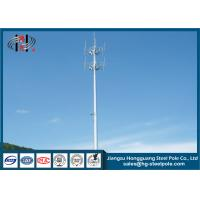 Buy cheap Mobile Cell Phone Telecommunication Towers Tubular Monopole Tower from wholesalers