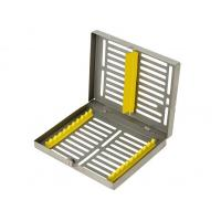 Quality 10 Dental Instruments Stainless steel Autoclave Sterilization Cassette Tray Racks for sale