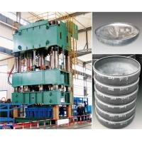 China Vertical Hydraulic Press Machine 1000 Ton For Max 1000 Mm Round And Ellipse Dish End on sale