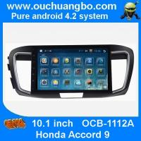 China Ouchuangbo Honda Accord 9 android 4.2 multimedia kit with bluetooth gps navigation ipod usb mp3 player on sale