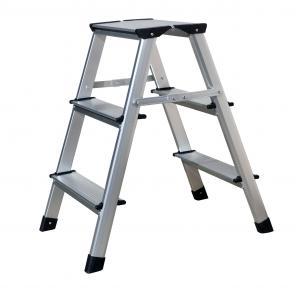Quality Professional  Aluminum Step Stool   GS 2x3 Steps Aluminium Foot Stool for sale