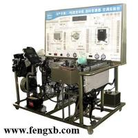 Quality Gasoline engine with transmission and air-conditioning system educational equipment for sale