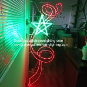 Quality christmas pole mounted motif light for sale
