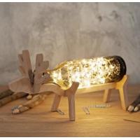 Quality Wooden Table Lamp, LED table lamp, animal shaped wooden lamp for sale