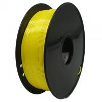 China yellow Flexible 0.2m 1kg / Roll PLA 3d Printer Filament on sale