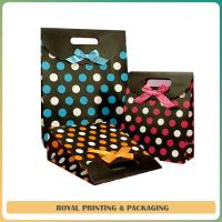 Quality durable colorful paper bag/shoes bag /recycled paper bag for sale