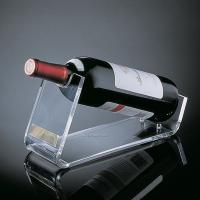 Quality 220mm*200mm*420mm Transparent Acrylic Plastic Wine Holder Table Holder for sale