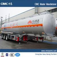 Quality tri-axle 45000 liters fuel truck semi trailer for sale for sale