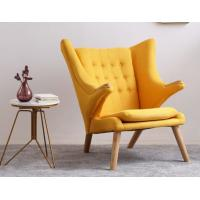 Quality New design furniture fabric Hans Wegner teddy bear chair Soft comfortable lounge chair for sale