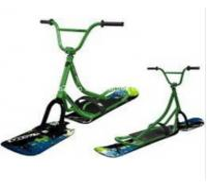 New Adult Aluminum Snowscooter Snowbike