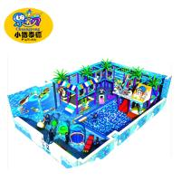 Quality Kids soft indoor playground equipment naughty castle ball pool playground for kids for sale