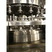 Quality Juice Aluminum Can Filling Machine , Auto Filling Sealing Machine Fast Speed for sale