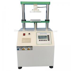 China AC220V Force Sensors Paper Tube Compressive Strength Testing Machine on sale