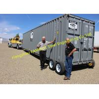 Quality Modern Design Shipping Prefab Container House On Wheels Tiny Container Home for sale