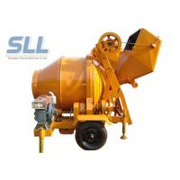 Quality JZC350 Easy Moving Self Loading Concrete Mixer Machine 2600*1950*2580mm for sale