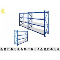 Quality Stable Heavy Duty Warehouse Racking Shelving / Industrial Racks And Shelving 0.6mm for sale