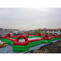China inflatable football field , new inflatable soccer field for sale , inflatable sports arena on sale