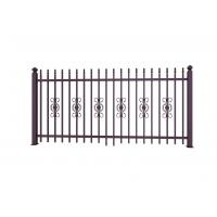Quality Metal Ornaments Prefabricated Metal Fence Panels For Garden Decoration for sale