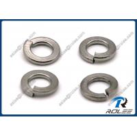 Quality 304 / 316 / A2 / A4  DIN127 ANSI Stainless Steel Spring Lock Washers for sale