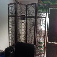 Quality sheet metal fabrication stainless steel folding screen room divider from China for sale