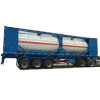 Customized Class 8 Corrosion Acid Tank Containers 20FT 40FT Professional for Fuel, Acid Road Transport with Motor Pump