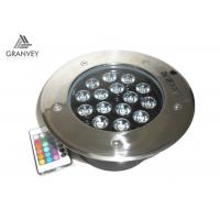 Quality Dustproof Underground Led Spotlight Ip67 Waterproof 15w With 15pcs Led for sale