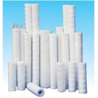 Quality customized 40''pp yarn string wound filter cartridge for mining industry for sale
