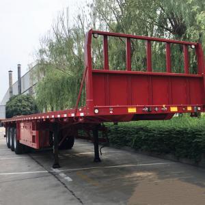 China 3 FUWA Axle Premium Steel Trailer Flatbed Iso Tank Chassis on sale