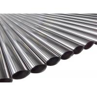 Quality 304 Stainless Steel Round Pipe , Stainless Steel Seamless Pipe for sale
