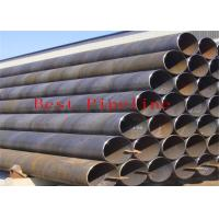 P355 P460 Black  ERW Welding Pipe  UOE Bared With Alloy Fine Grain Steel