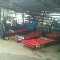 Quality 5 Waves Glazed Panel Making Machine For Country House In Chile Village for sale