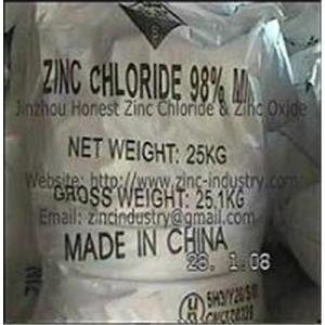 Quality High Quality Zinc Chloride & Zinc Oxide for sale