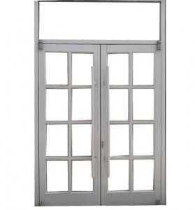 China Heat Insulation French Folding Door Aluminum Frame on sale
