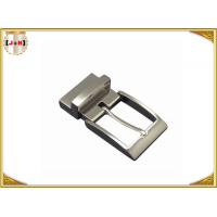China Shiny Gunmetal  Zinc Alloy Custom Belt Buckle Special For Men , Inner Size 35 Mm on sale