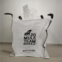 Quality Fibc Pp Jumbo Bulk Bags Closed Bottom For Chemicals / Minerals 90 X 90 X 110cm for sale