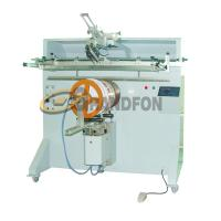 China YZ-600R round plastic bucket tub semi-automatic silk screen printing machine on sale
