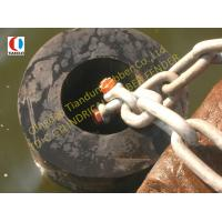 Quality Cylindrical Natural Rubber Dock Fender Anti-shock , Ø1200 x Ø600 for sale