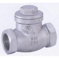 DN15 ~ DN65 Stainless Steel Check Valve PN16 / 150lbs / 200 Psi Pressure