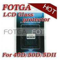 China 0.5mm Optical FOTGA Glass Protector for CANON 50D Digital Camera LCD Screen on sale