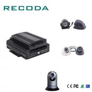 Quality 1080P Resolution Car Dvr Video Recorder HDD/SD 4G/WIFI/GPS G- Sensor 4CH AHD Input for sale