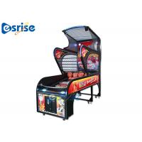 Quality Deluxe Arcade Basketball Game Machine Smart Counting System Hardware Plastic Material for sale