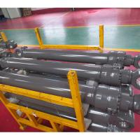 Quality Tractor Hydraulic Power Steering Cylinder Yellow Black Color Available for sale