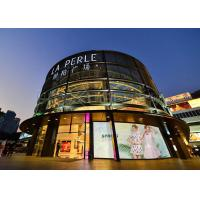 Quality RGB P10 Glass Wall LED Screen With High Transparency / High Brightness for sale