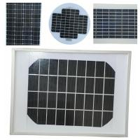 Quality Mini Size Mono Silicon Solar Panels18v PV Cells With High - Transmittance Glass for sale