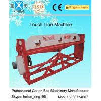 Buy Cardboard Semi Auto Paper Carton Making Machine For Packaging / Printing Industrial at wholesale prices